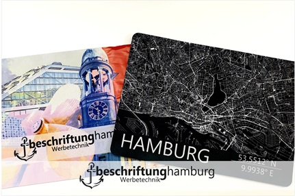 Bedruckte Mousepads Made in Hamburg - Sublimation